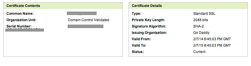 Updating a GoDaddy SSL Certificate on Heroku - Terrible Blog